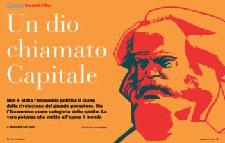 Marx anniversary for L'Espresso