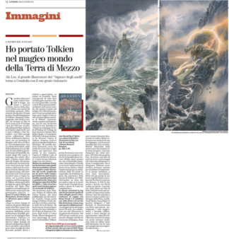 Interview to Alan Lee – La Stampa