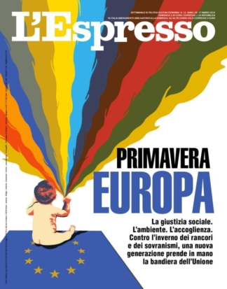 Europa cover for L'Espresso