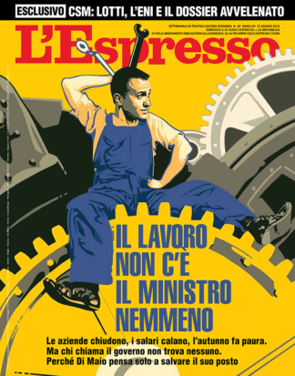 cover for L'Espresso
