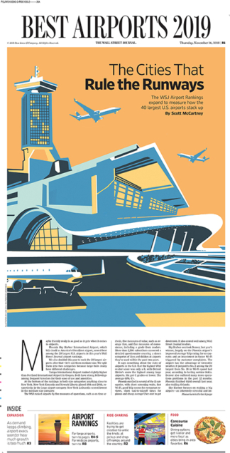 Airport design – WSJ