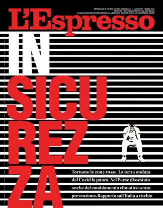 InSicurezza cover – L'Espresso
