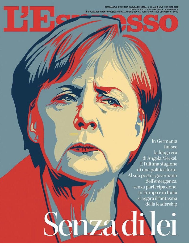 Angela Merkel – L'Espresso Magazine